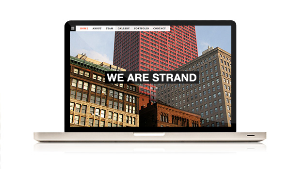 STRAND - One Page Parallax Bootstrap Template